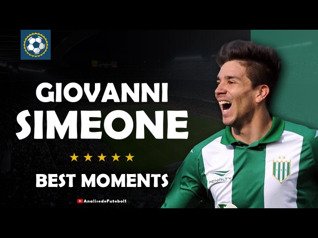 Giovanni Simeone Cholito • CA Banfield • Best Moments