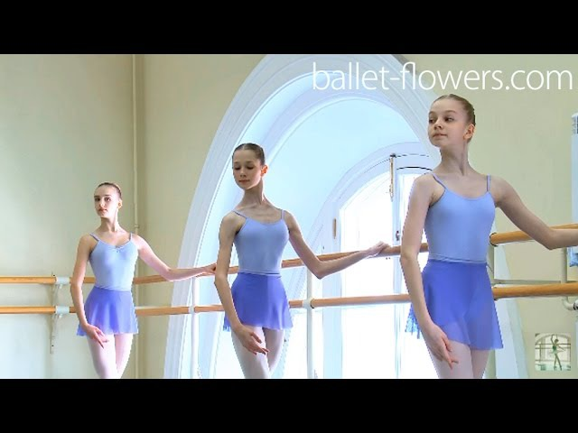 Vaganova Ballet Academy. Classical Dance Exam. Girls, 5th class. 2016
