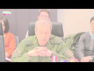 Басурин об информационной войне. Передача доказательств украинских преступлений против ДНР