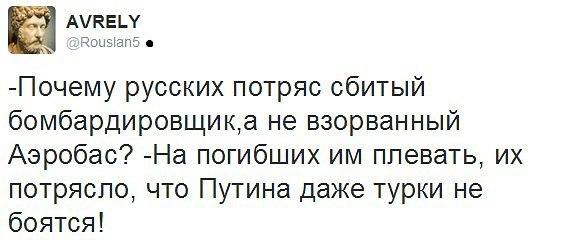 России не стоит ждать от Турции ни извинений, ни компенсаций, - пресс-секретарь Эрдогана о сбитом Су-24 - Цензор.НЕТ 2440