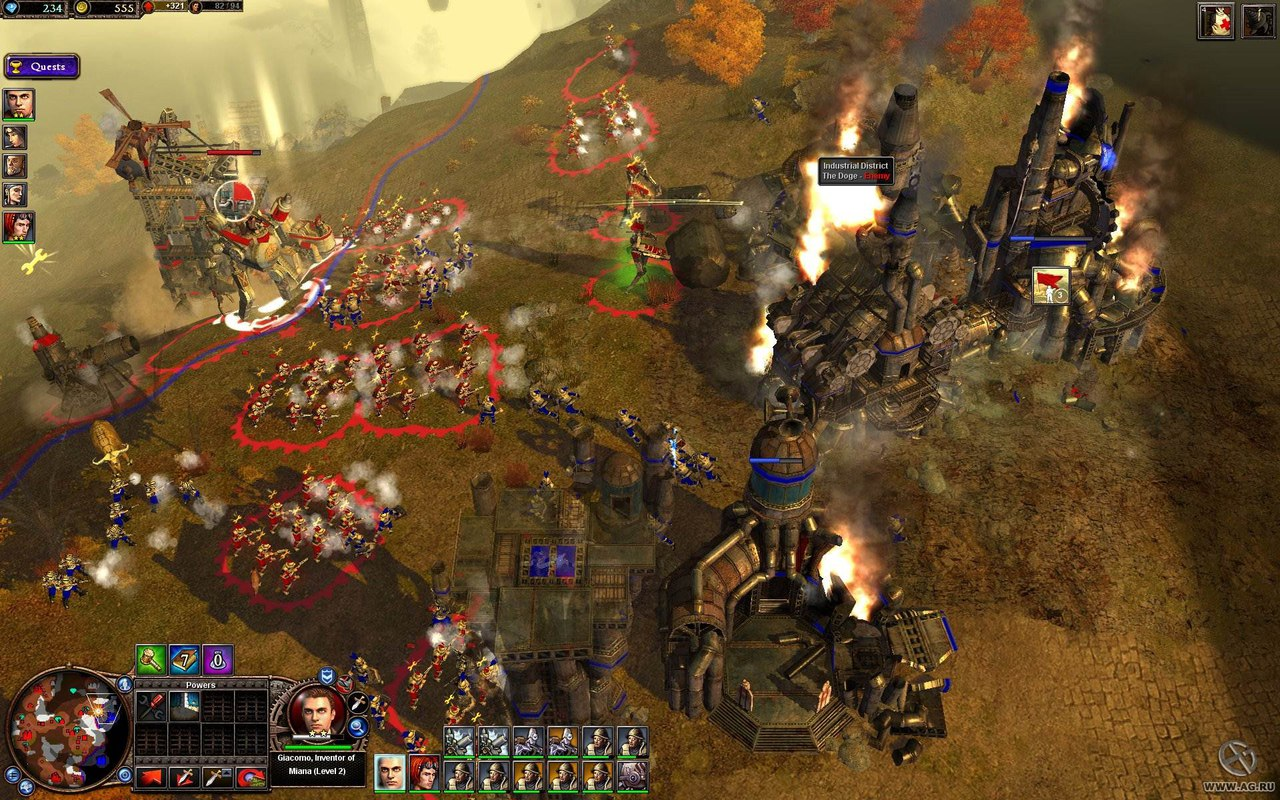 Rise of Nations: Rise of Legends (2006) PC - Скриншот 3