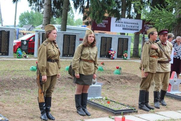 Кадеты школы 2121 и казаки ХКО