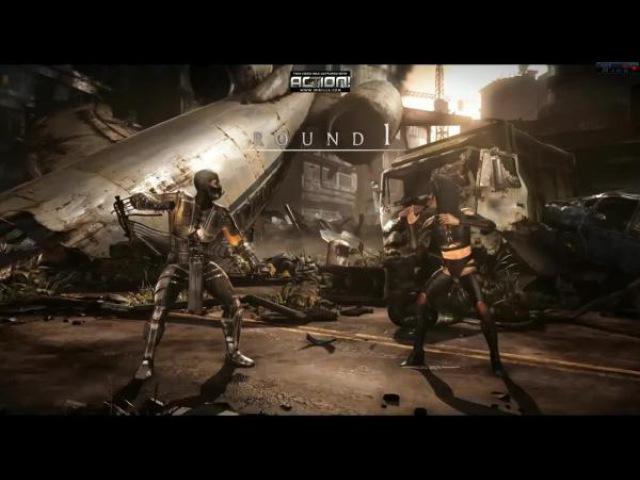 Mortal Kombat X PC MOD - SMOKE MK 9 - ENENRA COSTUME - MKX