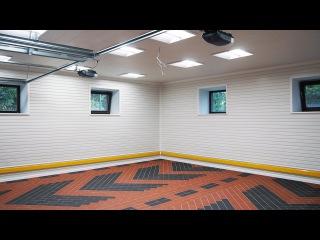 Отделочный материал для гаража: ПВХ панели TekPanels. Профессиональная отделка стен ...