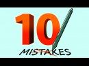 10 Digital Art MISTAKES! Subtitles in French, Italian, Portuguese, Russian, Serbian Spanish