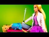 Барби Доктор Видео с куклами Укол Принцессы Дисней Феи Человек Паук Игры для девочек - Видео Dailymotion