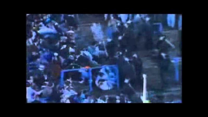 Linfield vs Donegal Celtic Riot - Windsor Park, Belfast 1990