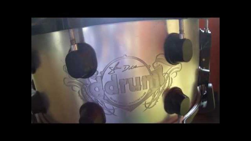 Snare shawn drover (megadeth) -Studios javier pino LIMA PERÚ.