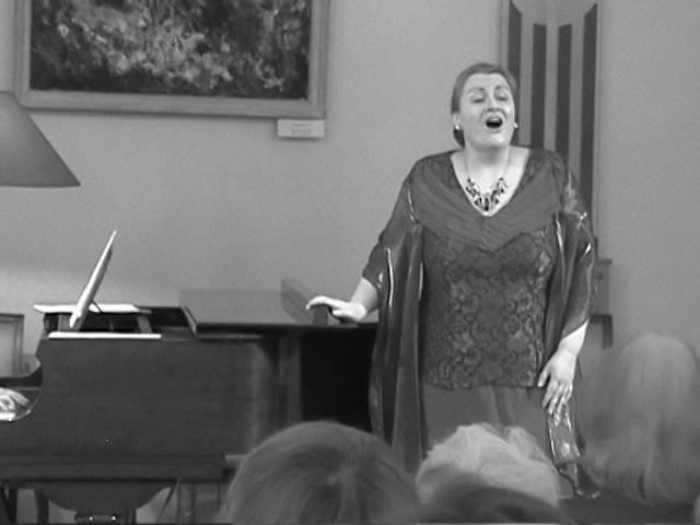 В лунном сиянии. Екатерина Каменева(меццо-сопрано), Анна Крымская(ф-но)