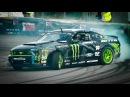 EPIC Drift Show w/ Vaughn Gittin Jr. and his Monster Ford Mustang RTR