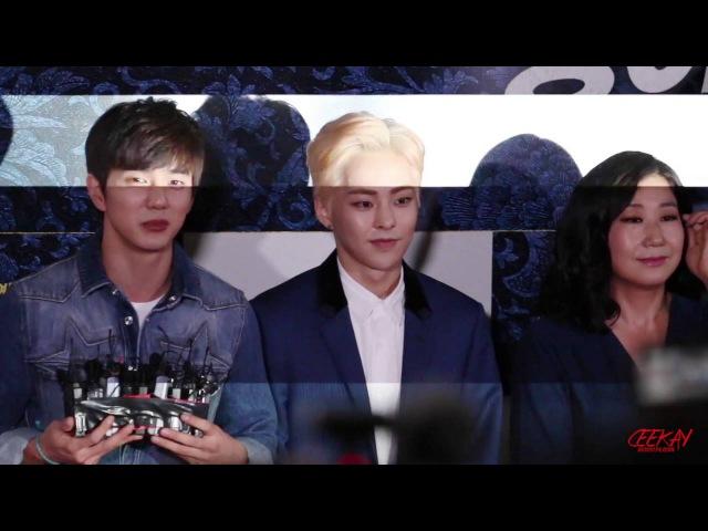 160704 봉이 김선달 VIP시사회 - EXO [XIUMIN FOCUS]