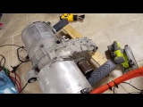 Tesla Model S - Rear Drive Unit - On the Bench - First Success