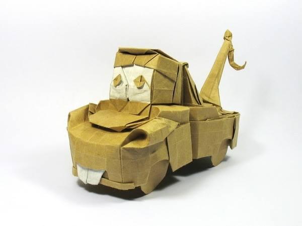 v07ZmCkqBWA - Nguyen Hung Cuong - оригами-скульптор