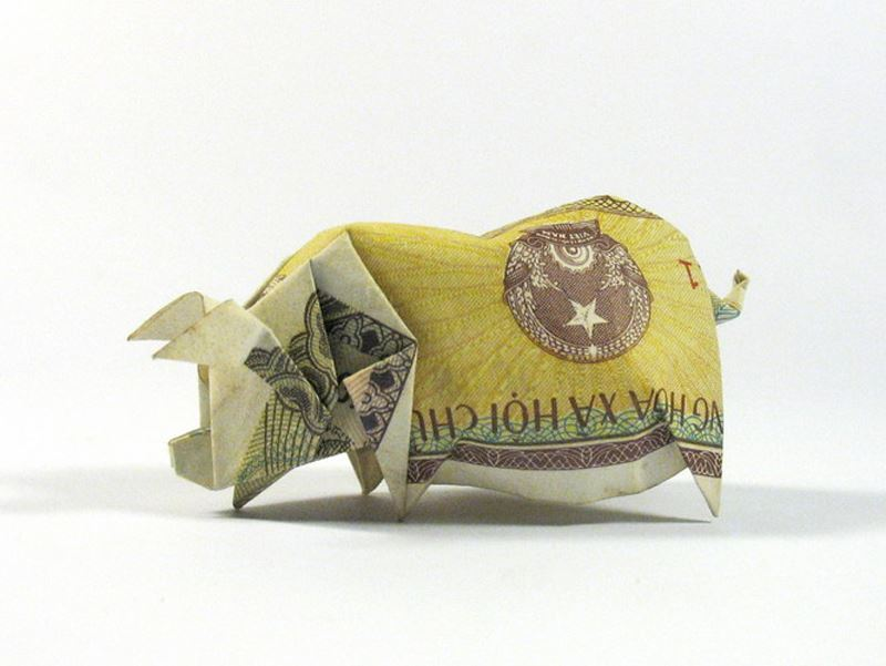 EgTvH2MFaLI - Nguyen Hung Cuong - оригами-скульптор