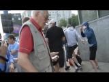 Русские вломили Полякам в Варшеве в польше на ЕВРО 2012