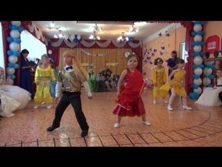 Выпускной утренник 2016 - Восточный танец -  группа Белочка - Атлашевский д/с