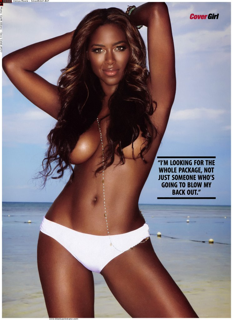 Kenya moore nude obvious, you
