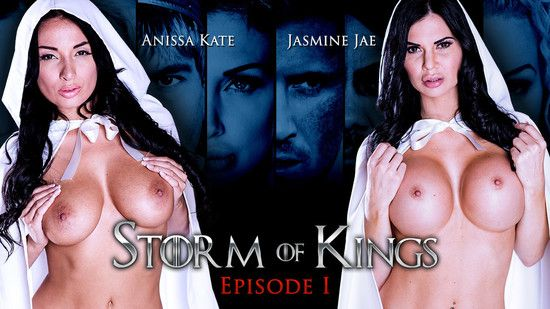 ZZSeries – Anissa Kate , Jasmine Jae  – Storm Of Kings: Part 1