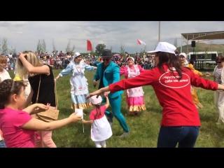 Мунир Рахмаев - Туган кон. Сабантуй-2016. пгт Нижняя Мактама. Альметьевск. [720p]