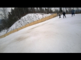 Гора Плай, спуск в реальном времени, дубль 3