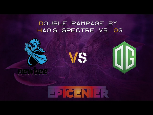 Double Rampage by Hao's Spectre @ Epicenter