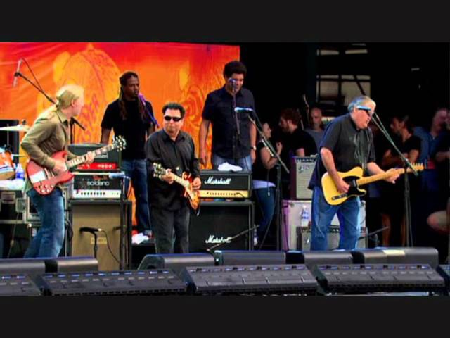 Derek Trucks with David Hidalgo Cesar Rosas