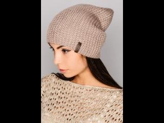 ♥Шапка бини♥Простая женская шапка+мастер класс+полное описание♥lesson 1.Шапка бини спицами♥