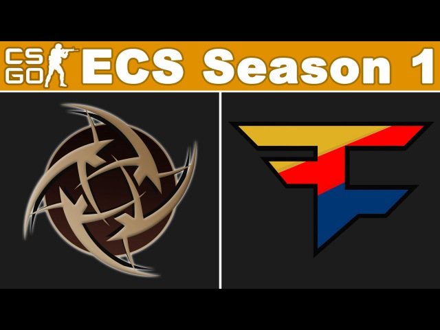 NiP vs FaZe - ECS Season 1 - BO3 - map1