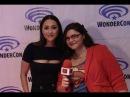 Lindsey Morgan (Raven) talks The 100 at WonderCon 2016