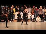 Get Movin' Vol.8 Waacking Final IBUKI(w) vs WIZZARD