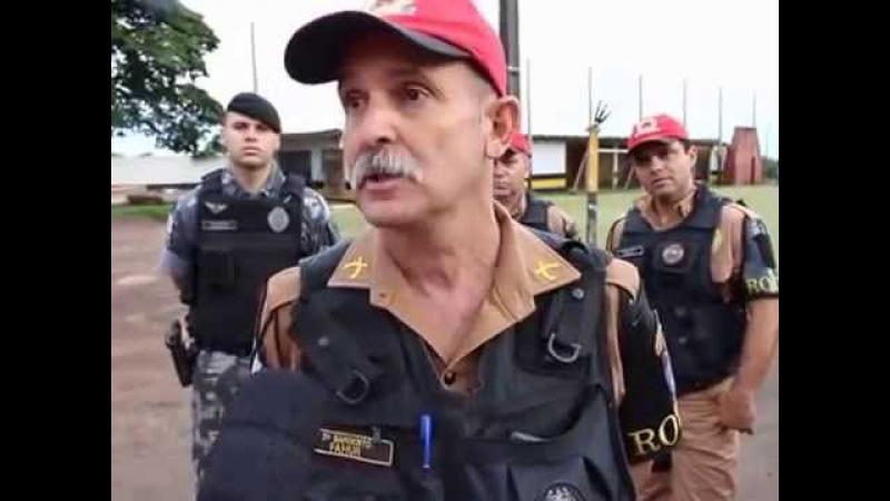 SARGENTO FAHUR DESAFIA TRAFICANTE A BUSCAR A DROGA E CHAMA TODOS DE CAGÃO
