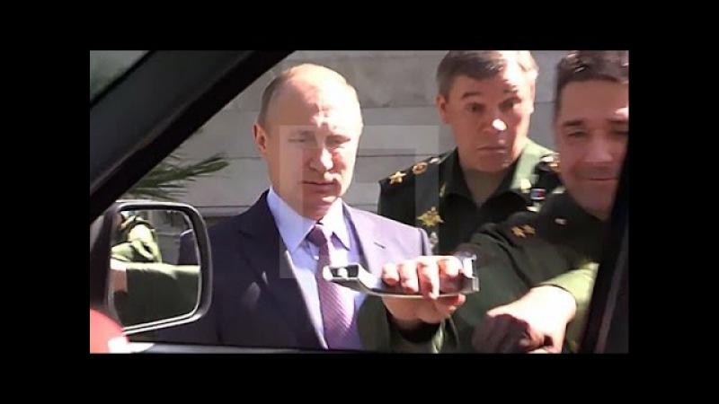 Генерал оторвал ручку у УАЗ