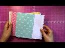 Mini álbum de sobres con cubierta de cartón II Interior