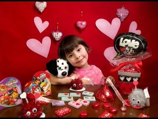 Открываем подарки и делаем печеньки на День Святого Валентина
