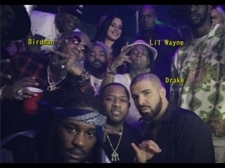 Drake's NYE Party in Miami Club E11even
