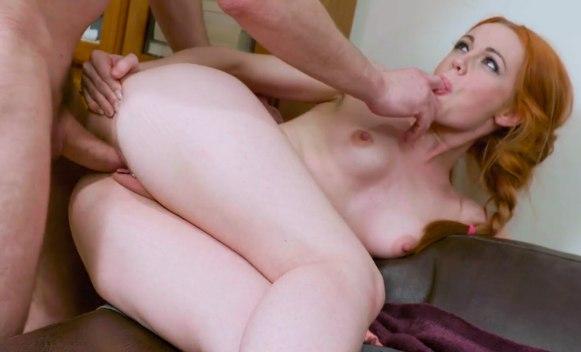 Порно видео с рыжеволосой