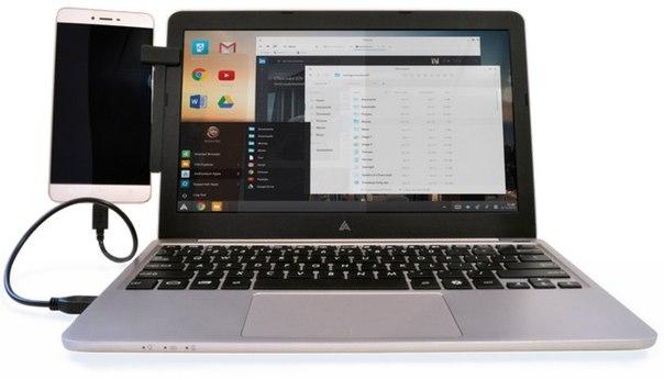 IFun9c5XMQI Superbook — аксессуар в виде ноутбука для смартфона с Android