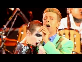 Queen feat. David Bowie & Annie Lennox - Under Pressure The Freddie Mercury Tribute Concert live -