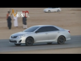 Toyota camry v50 saudi drift