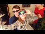 Рина Поленкова и её ренжеры-одноклассники поздравляют остальную часть нашего дивного класса с нг))))