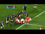 Mike Phillips against France - RWC 2011