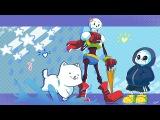 Undertale - Drop Pop Candy w lyrics 1M Reupload