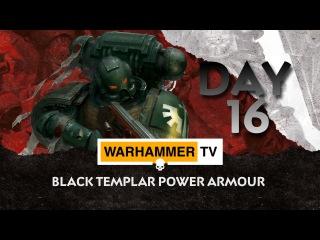 Black Templar Power Armour - Advent Calendar Day 16