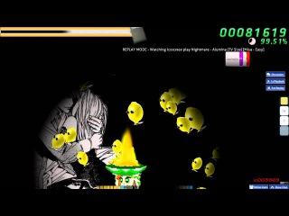 Walkthrough Osu (CTB) beatmap Nightmare - Alumina (TV Size) [Misa - Easy] - (NC+HR+FL+SD)