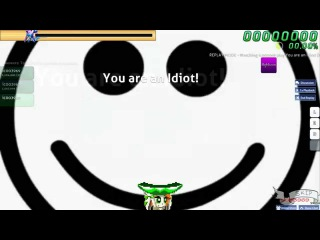 Walkthrough Osu (CTB) beatmap You are an Idiot! [Easy] - (NC)