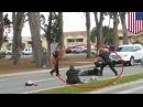 Brutalité policière : un homme souffrant de troubles mentaux est battu par la police