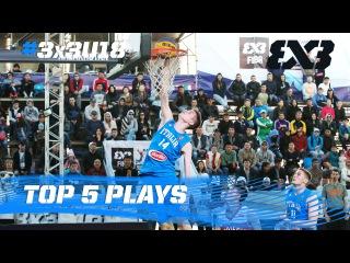 Top 5 Plays - Day 3 - 2016 FIBA 3x3 U18 World Championships