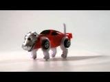 Заводная игрушка машина-трансформер Динозавр Спайкер
