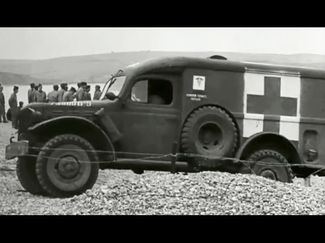 Medical Service in the Invasion of Normandy 1944 US Army; D-Day, World War II