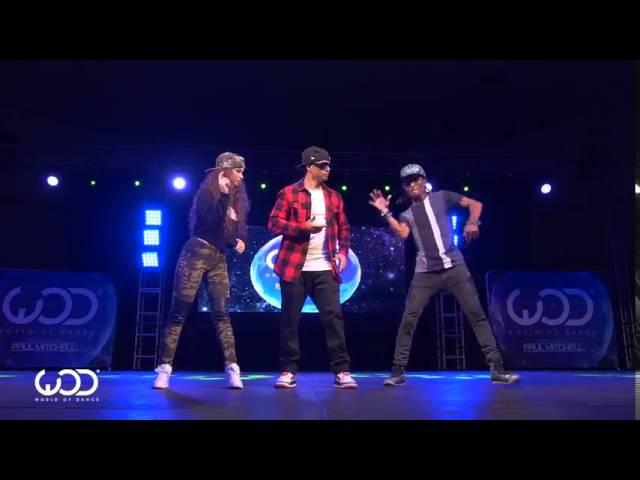 Крутой танец на фестивале World of Dance 6 sec